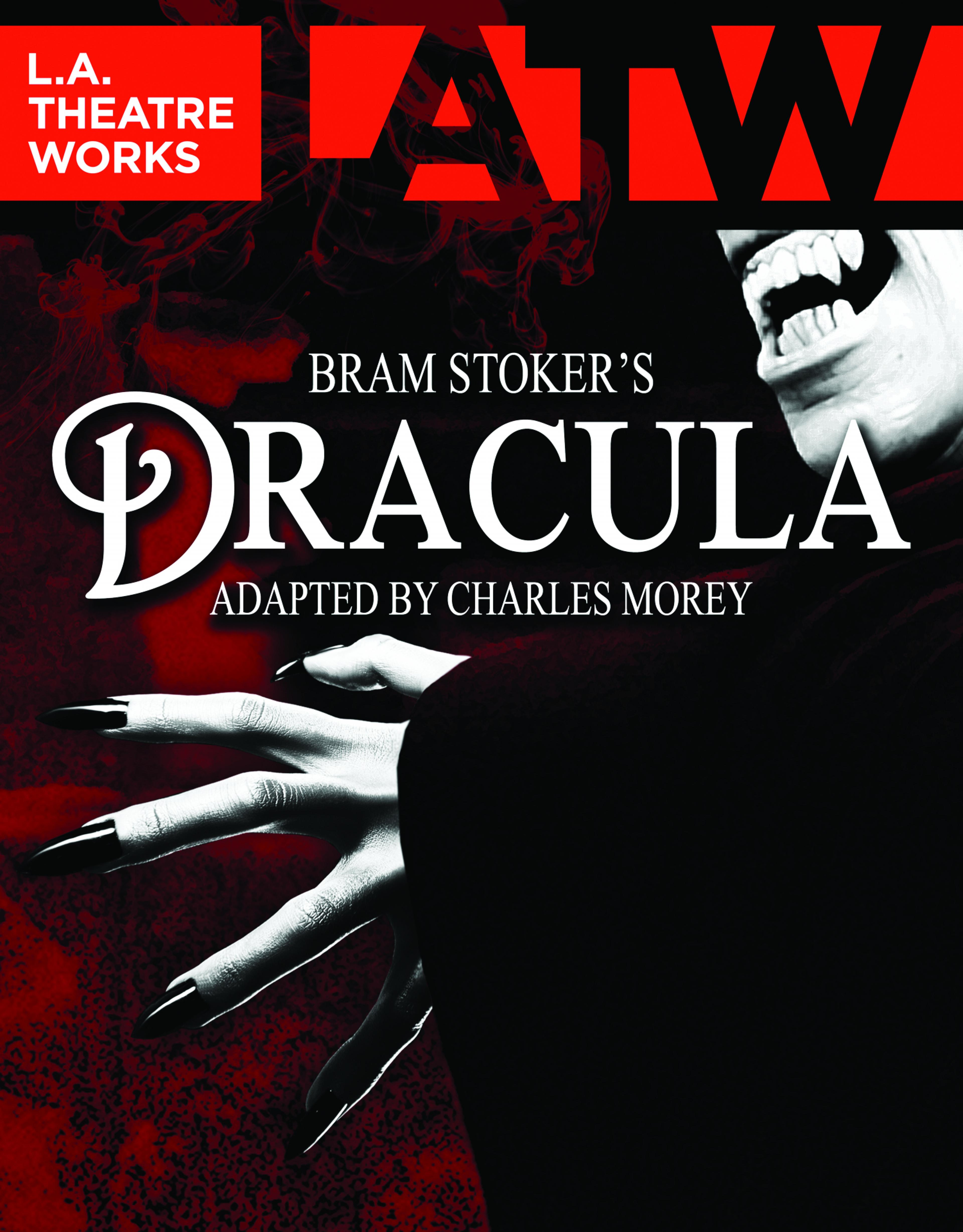 publicity image for L.A. Theatre Works presents Bram Stoker's Dracula