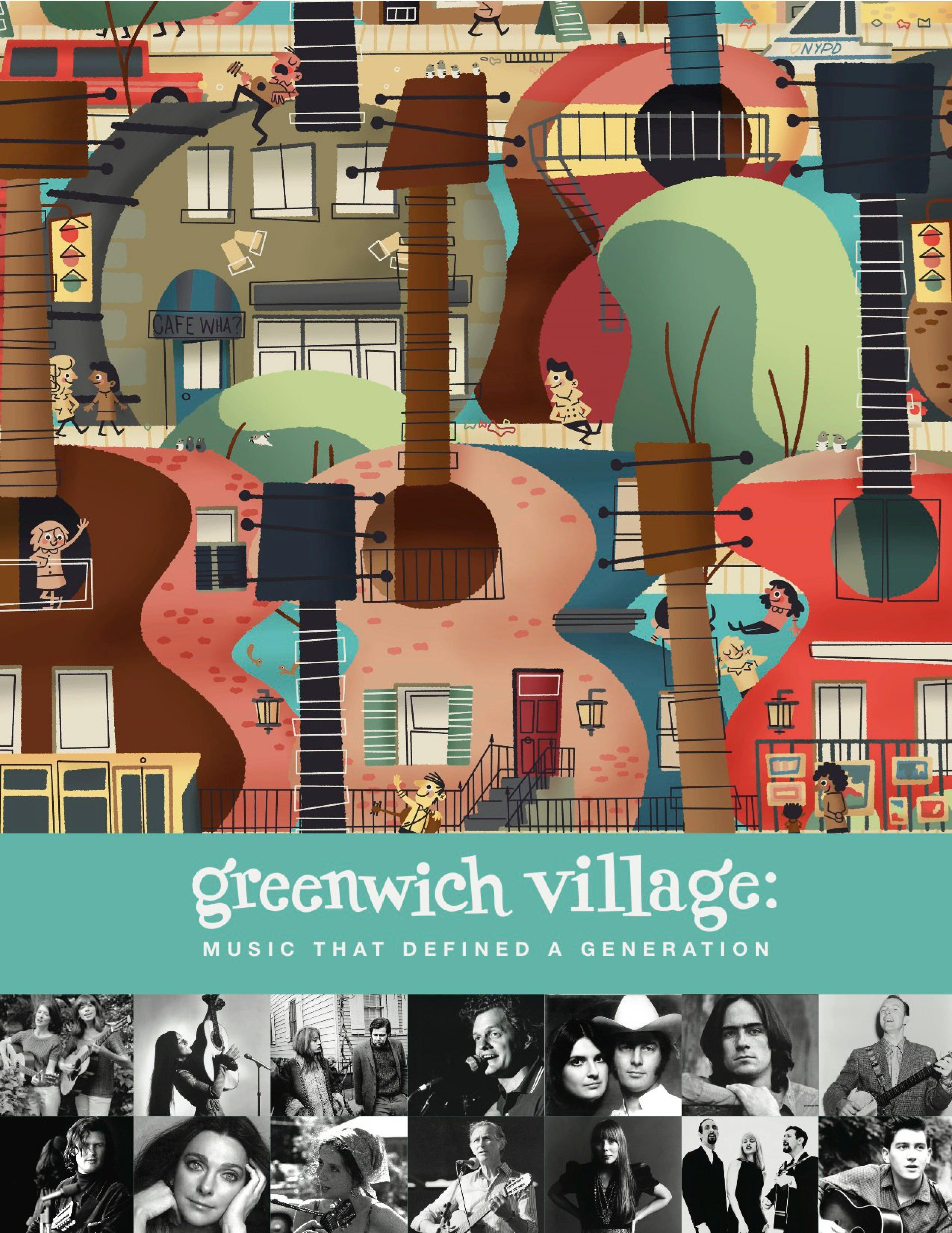 publicity image for First Friday Films: 'Greenwich Village'
