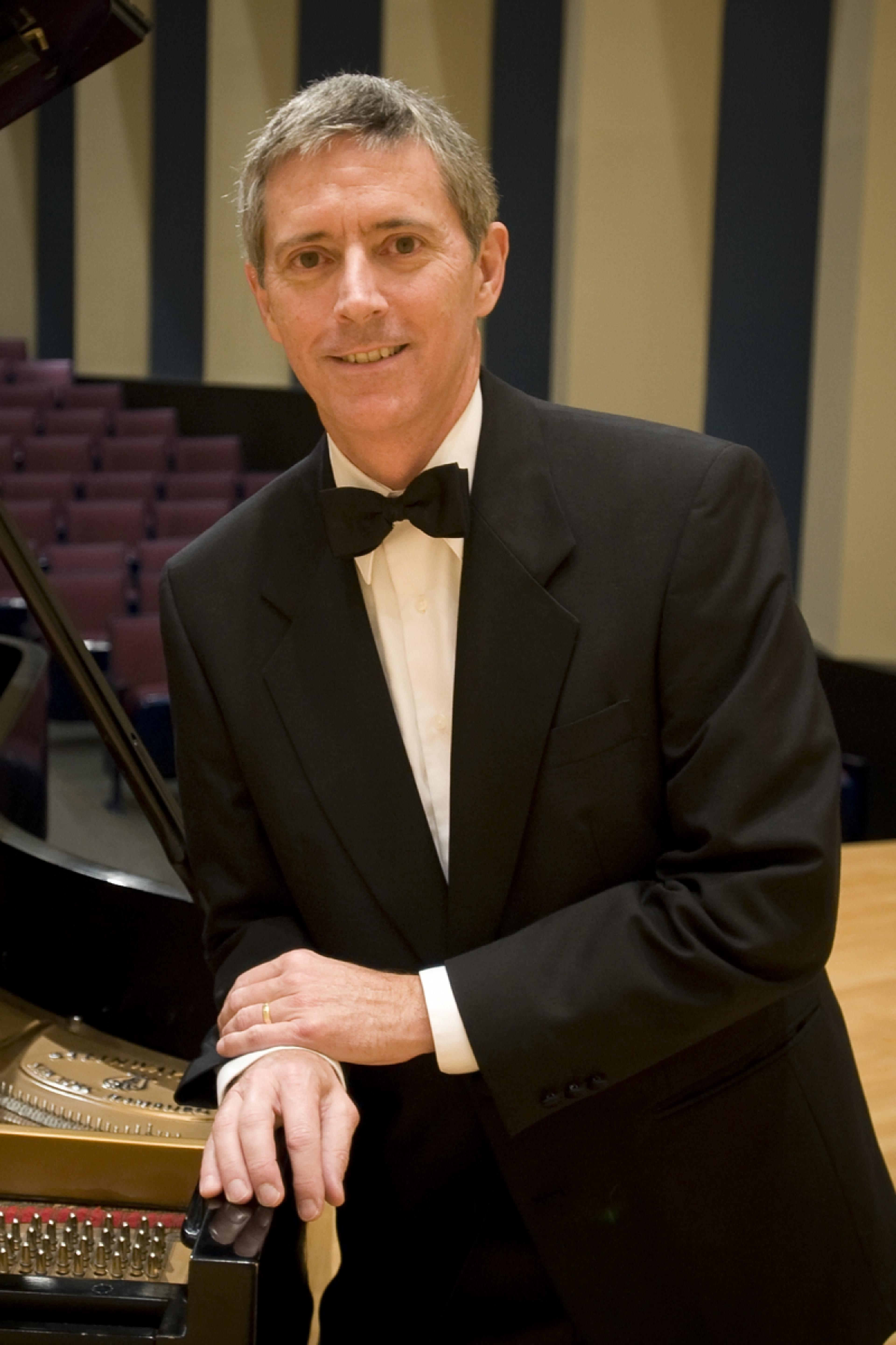 publicity image for Andrew Parr, faculty piano recital