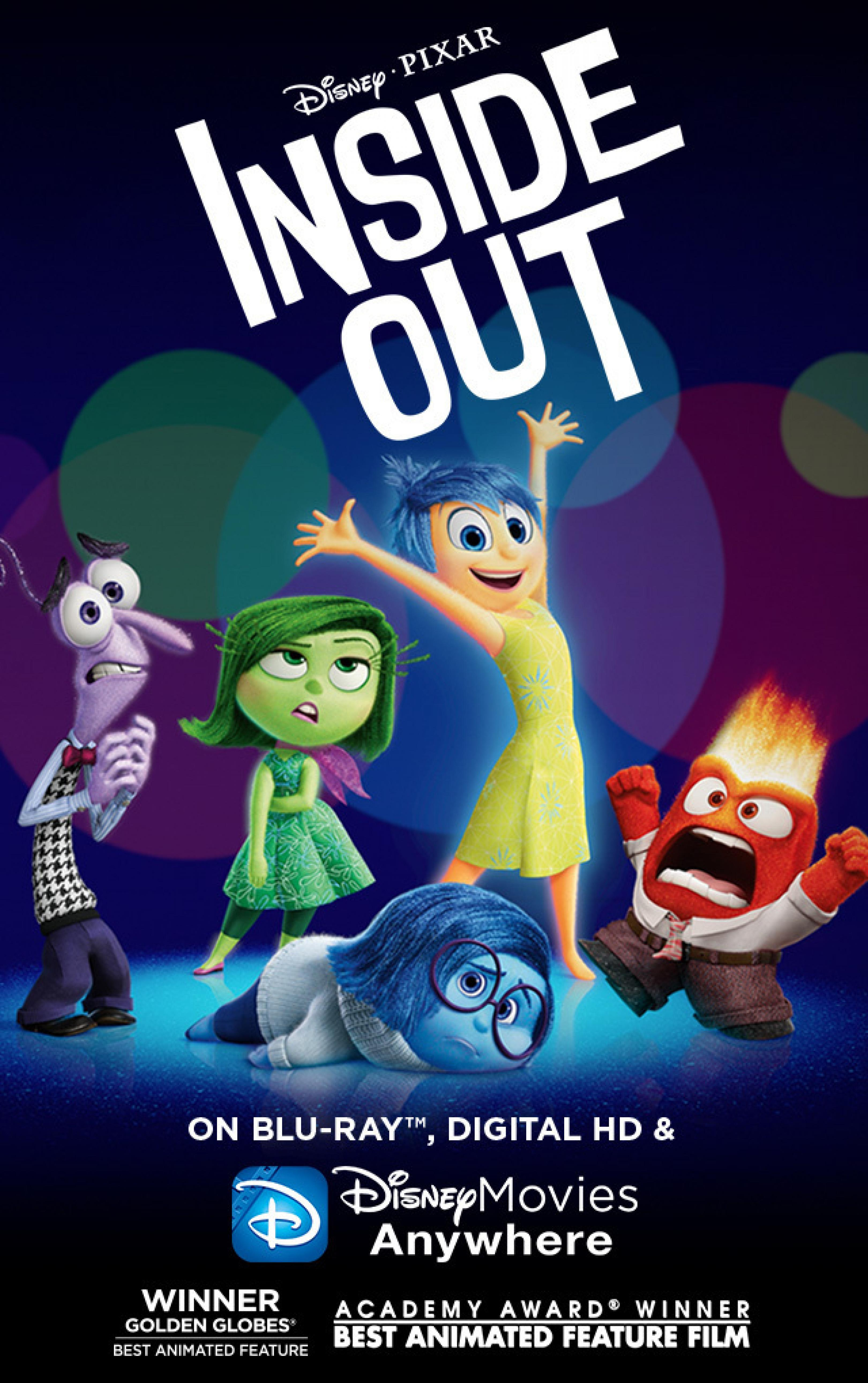 publicity image for Friday Film: Inside Out