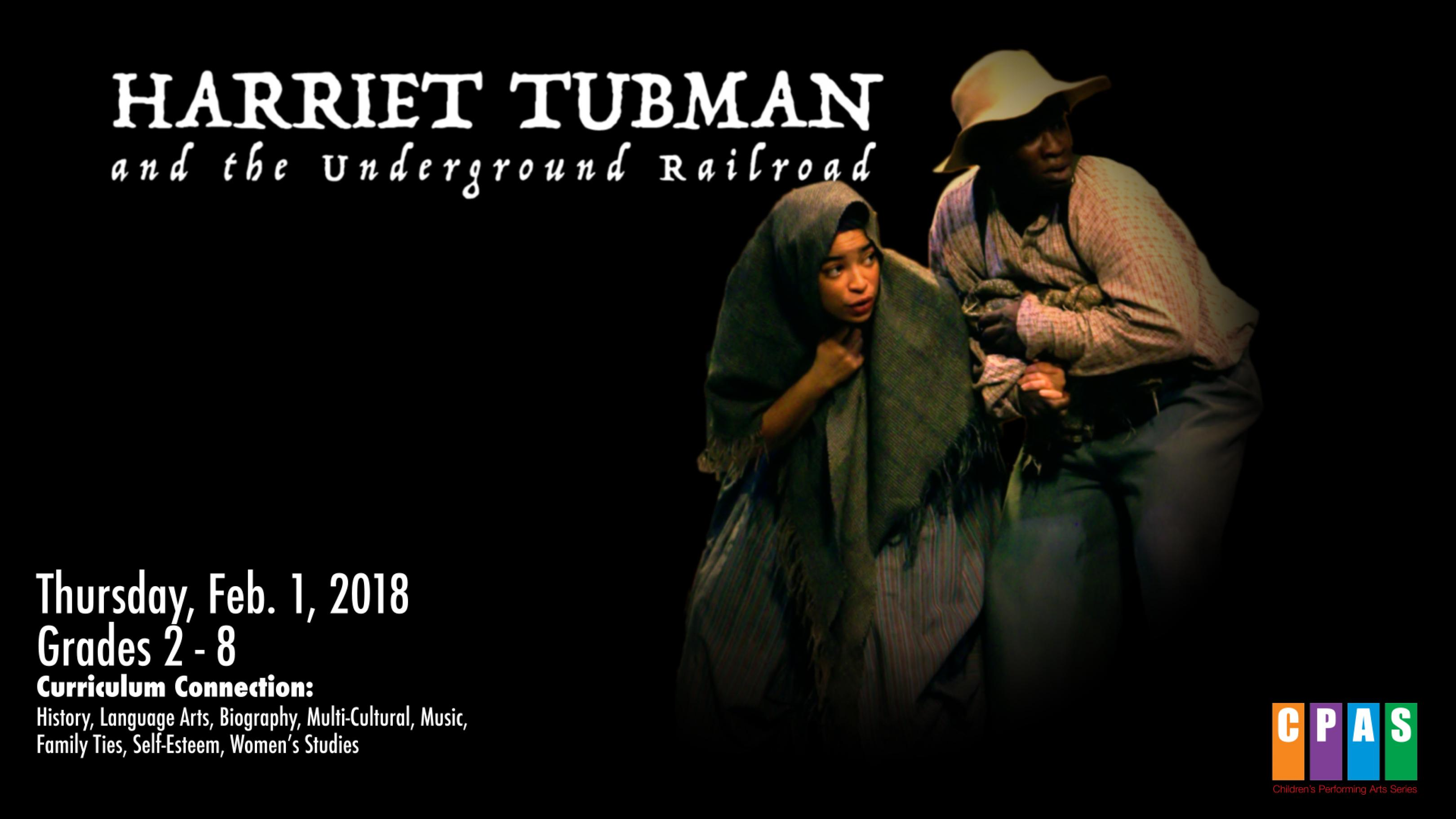 publicity image for Harriet Tubman and the Underground Railroad