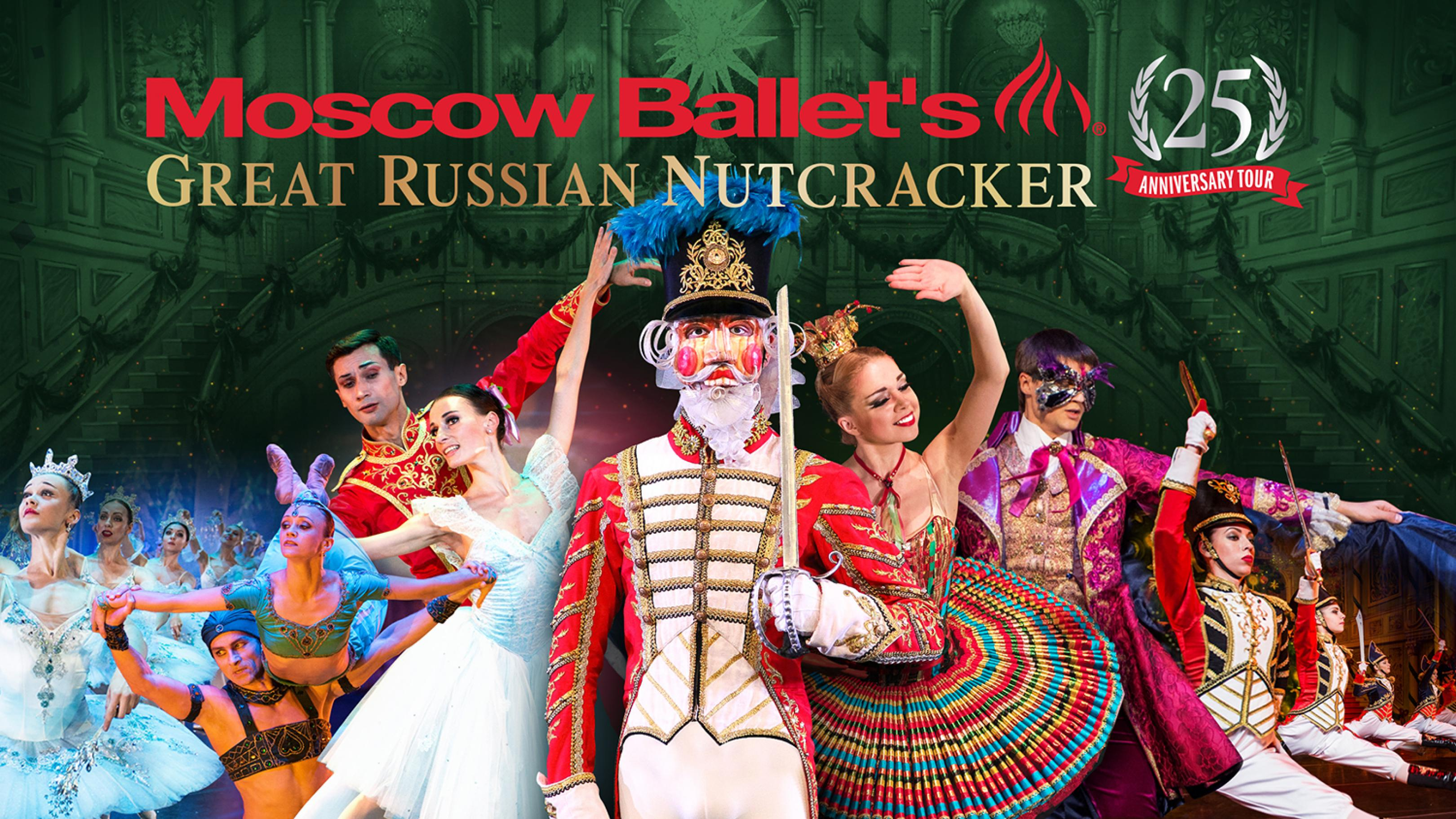 publicity image for Moscow Ballet's Great Russian Nutcracker