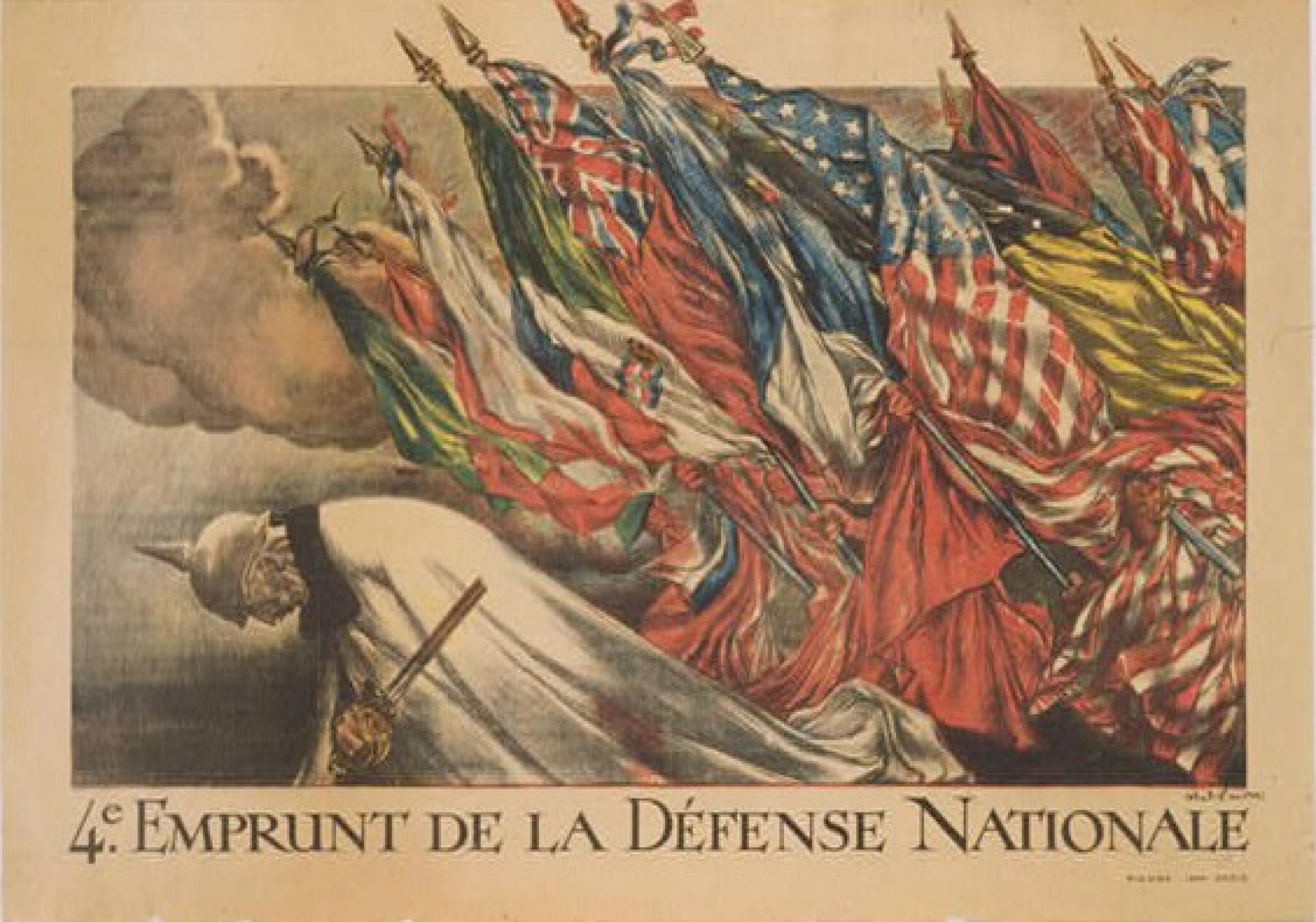 publicity image for The Patriotic Art of World War I in France