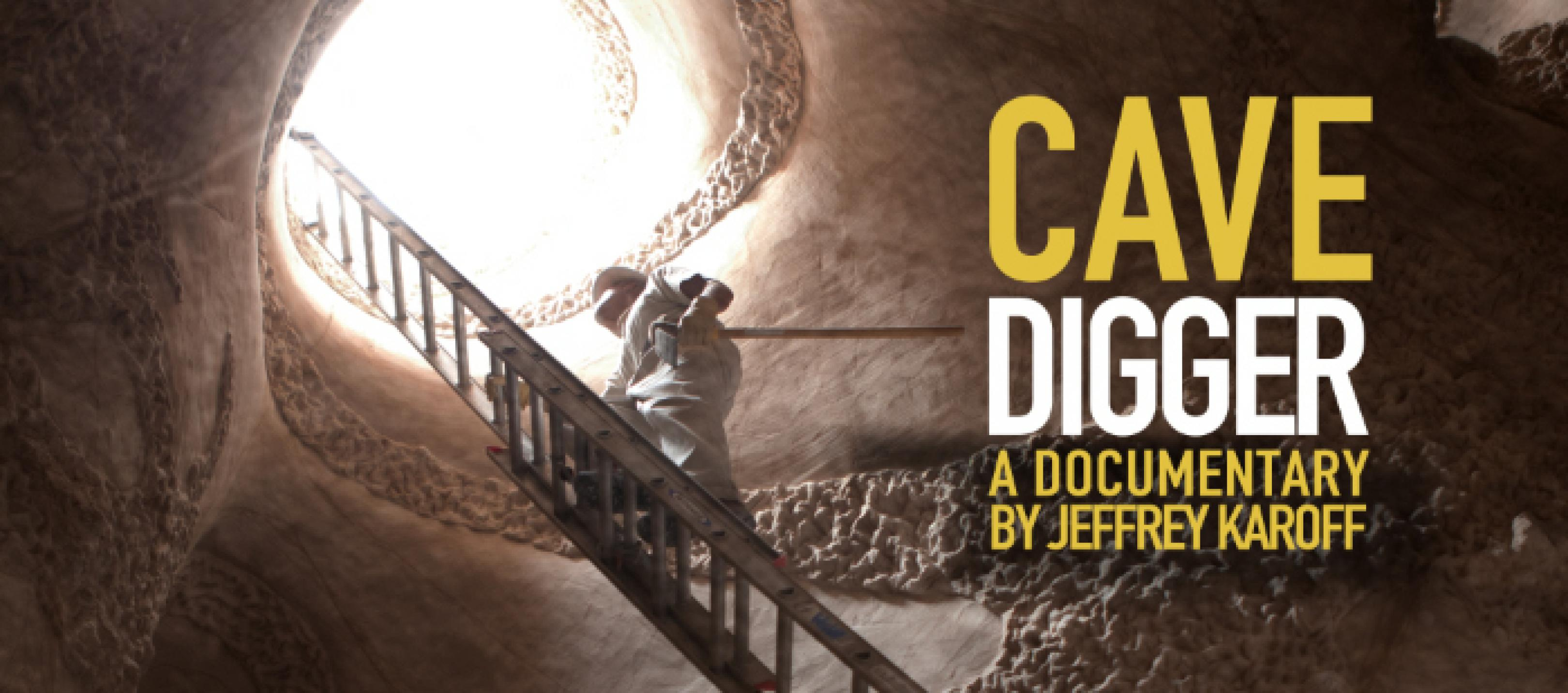 publicity image for Friday Night Film - Cavedigger
