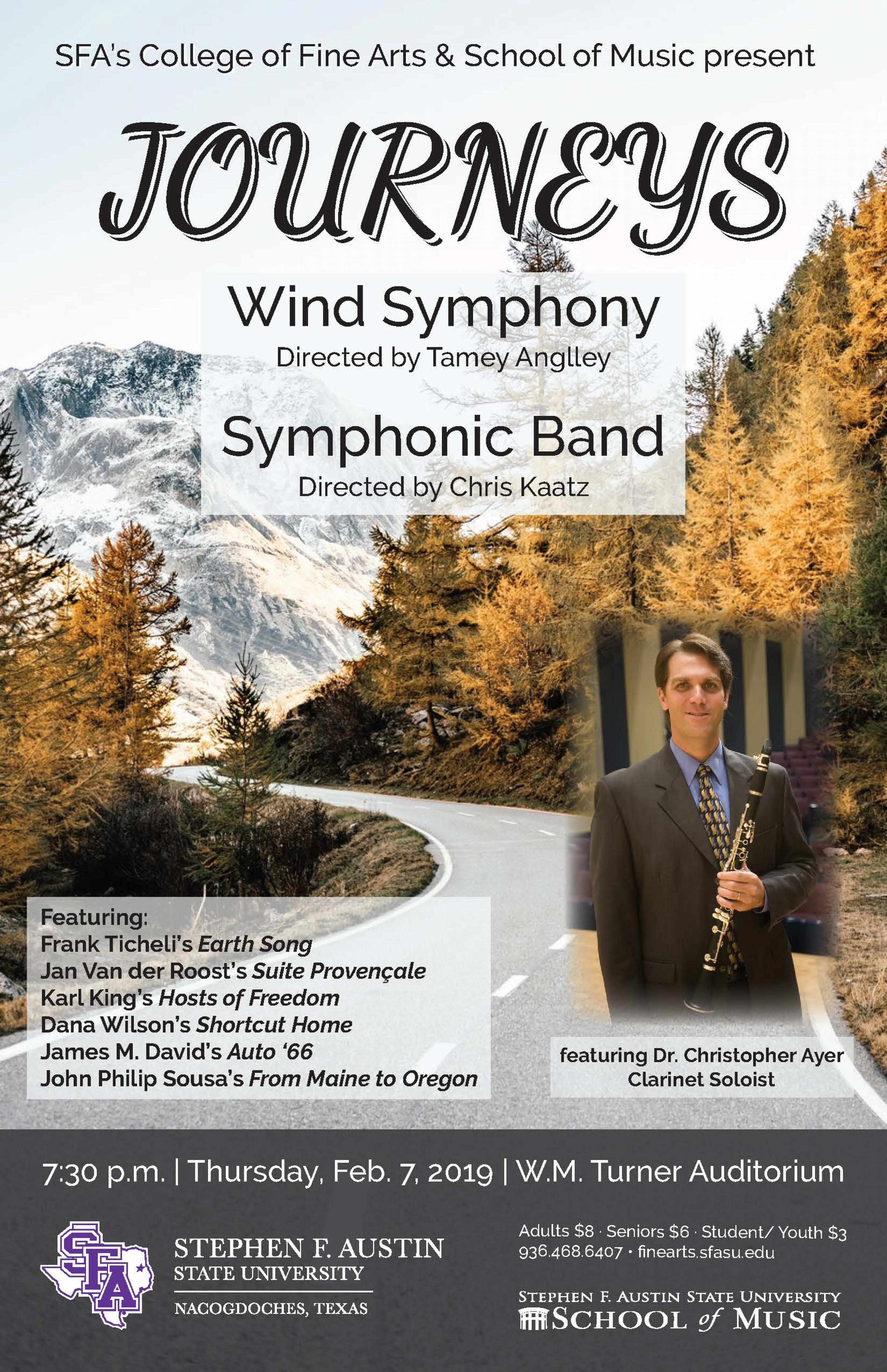 publicity image for Wind Symphony/Symphonic Band