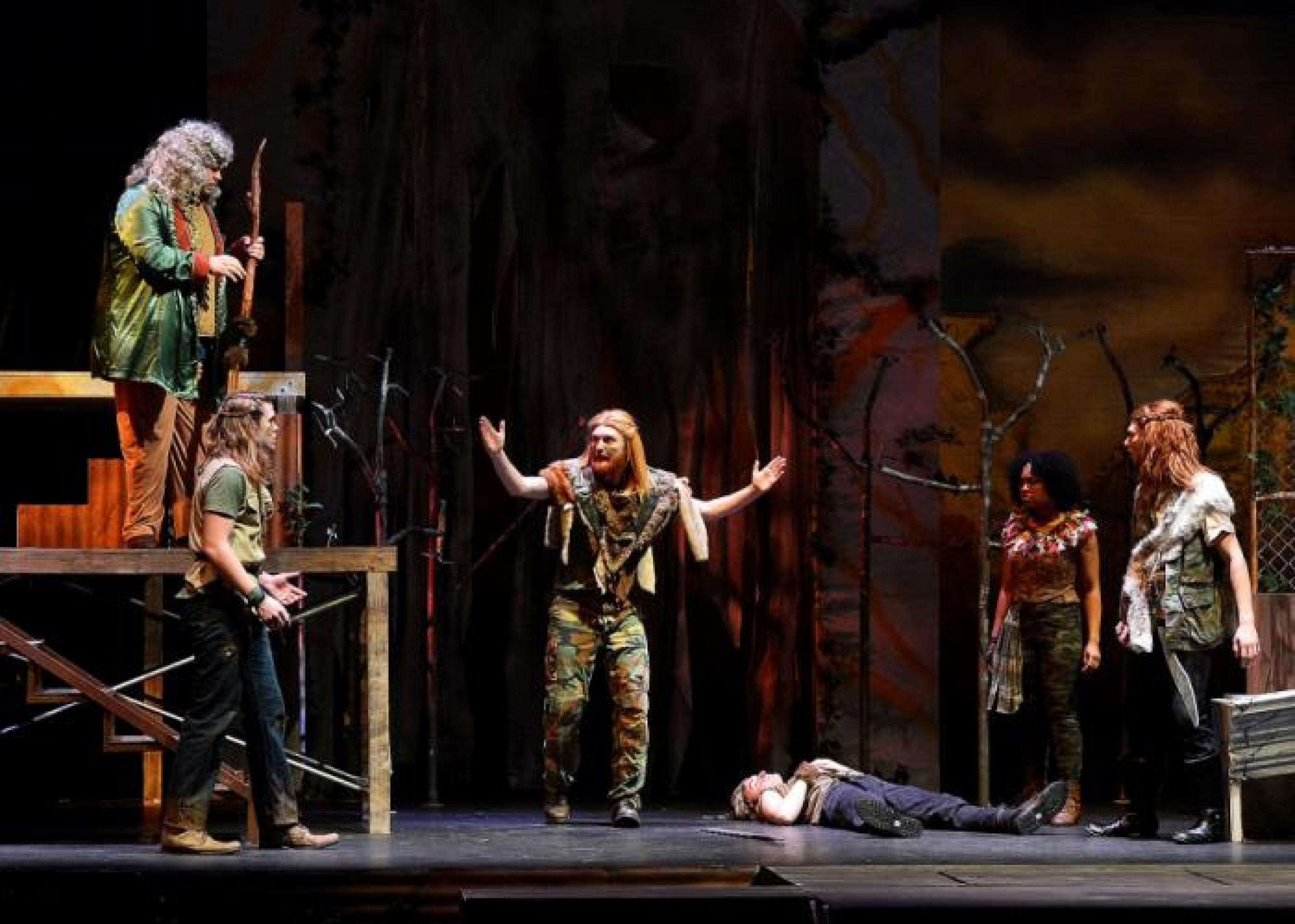 publicity image for Titus Andronicus