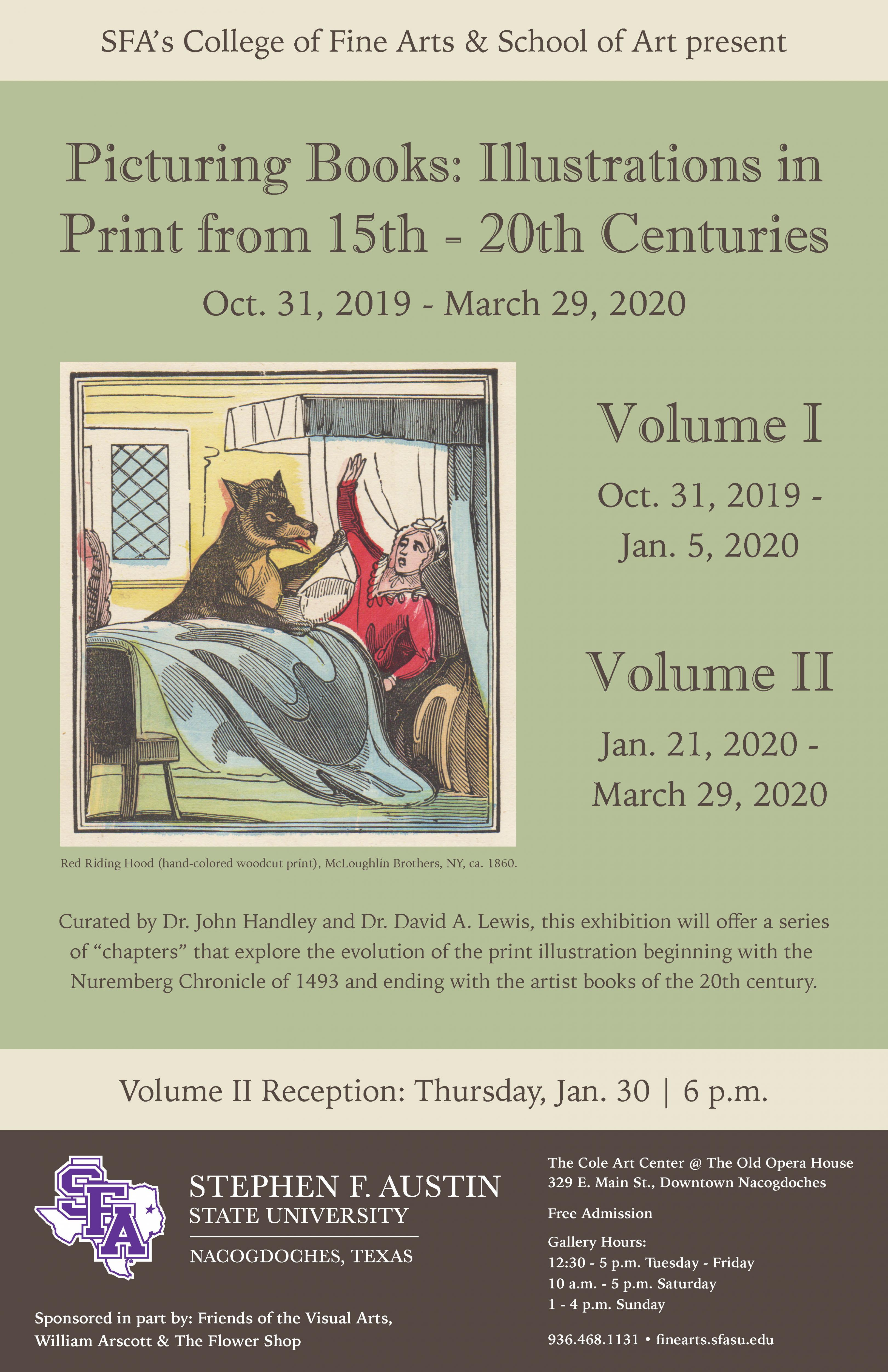 publicity image for Picturing Books Vol. 2