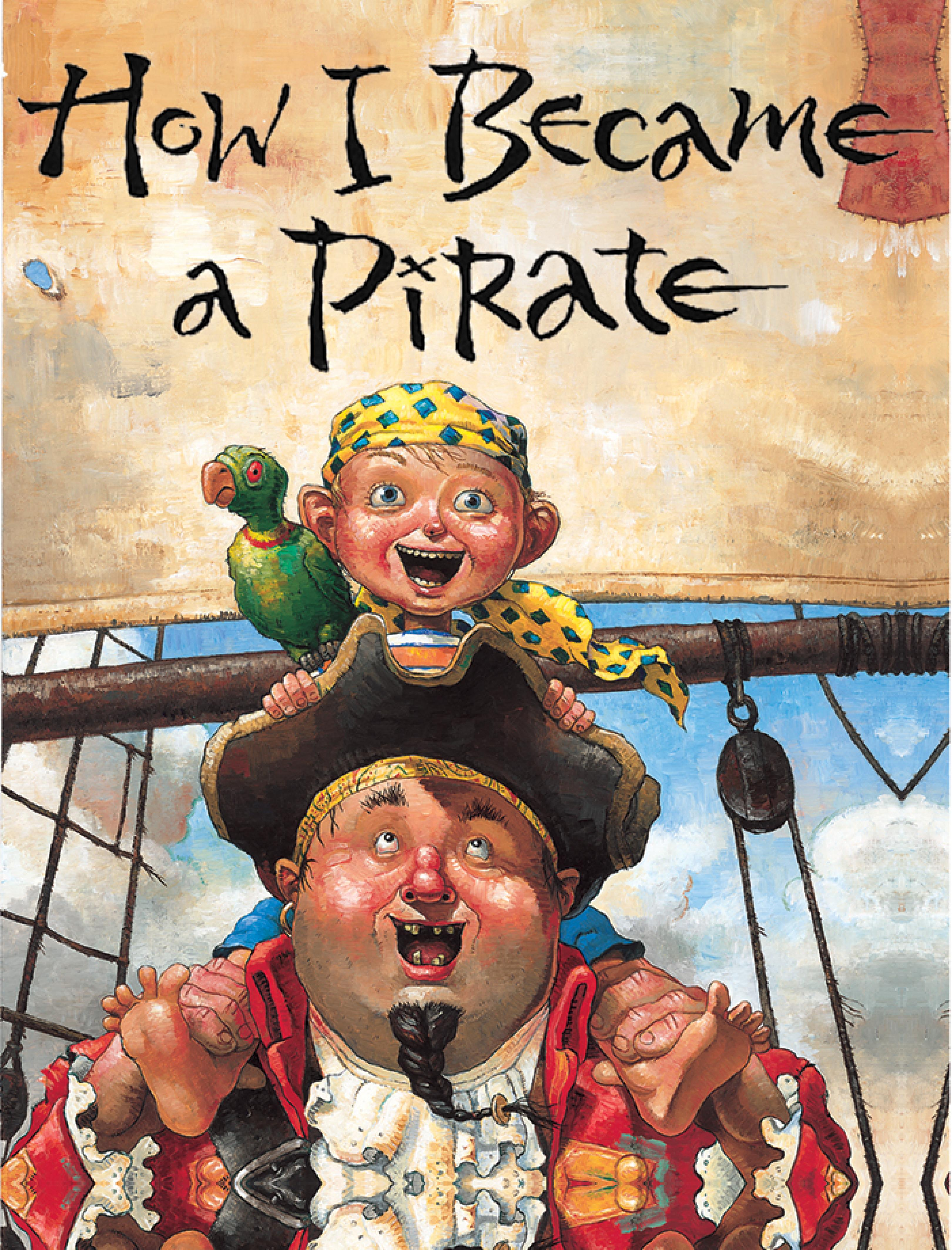 publicity image for How I Became a Pirate