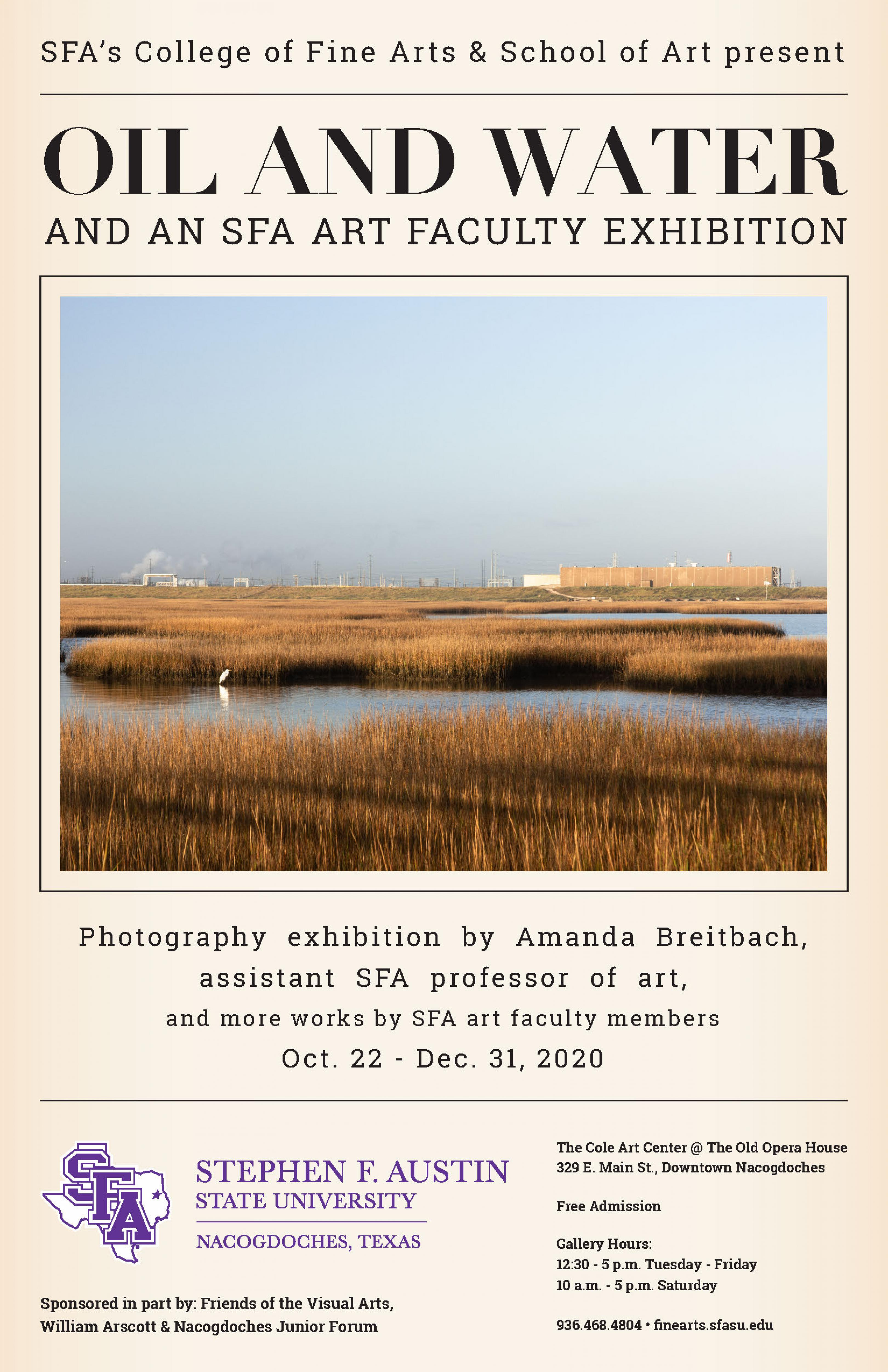 publicity image for Amanda Breitbach - Featured Faculty Exhibition